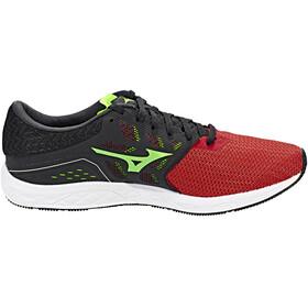 Mizuno Wave Sonic Buty do biegania Mężczyźni czerwony/czarny